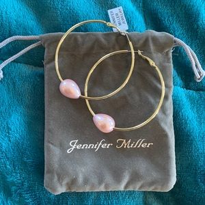 Jennifer Miller hope hoop earrings